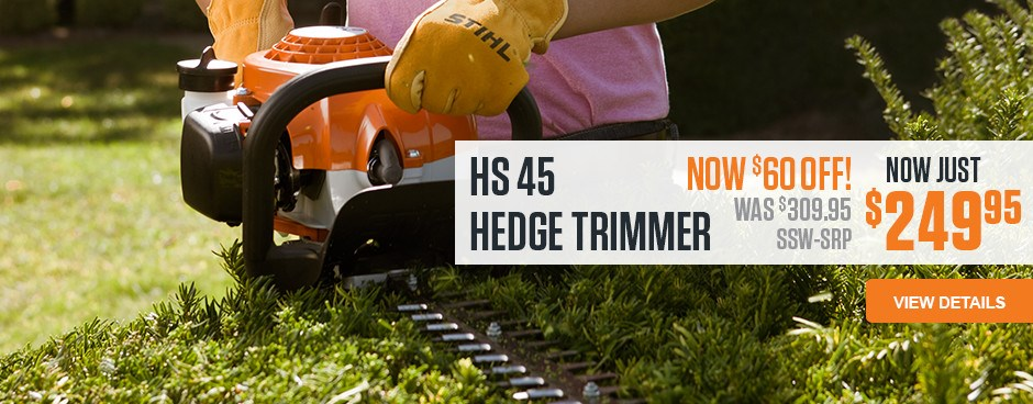 HS 45 Hedge Trimmer